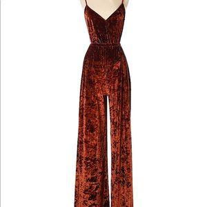 77147689a45 Show Me Your MuMu Pants - Show Me Your Mumu Richards copper velvet jumpsuit